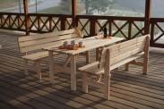 Viking - Stôl, 150 (prírodný)