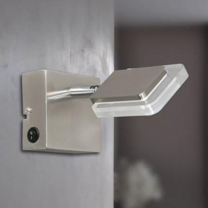 Vileta - Nástenné osvetlenie, LED (matný nikel)