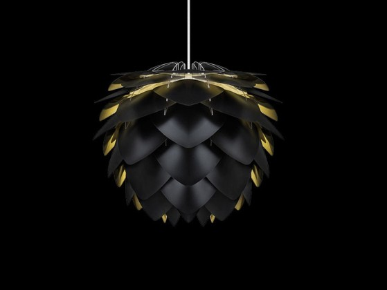 Vita Silvia - Stropné osvetlenie (černá)