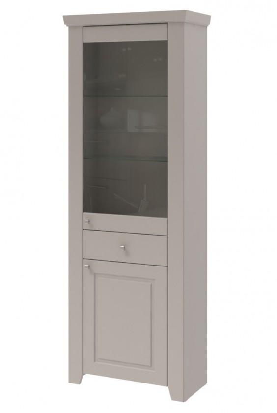 Vitrína Domi - Vitrína 2x dvere (kašmír)
