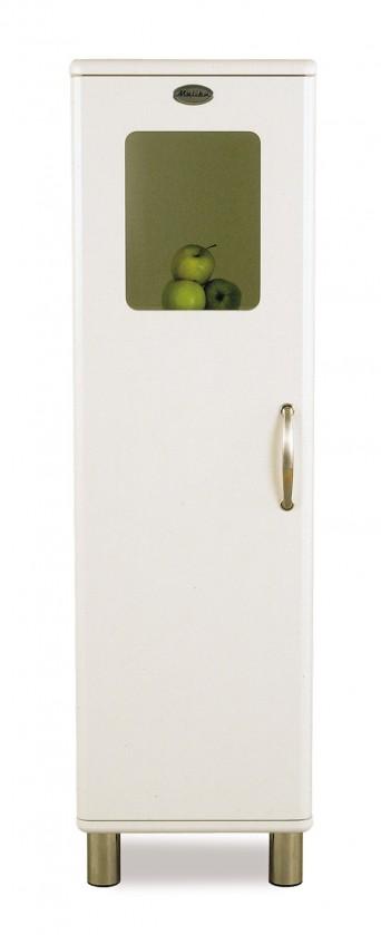 Vitrína Malibu - Vitrína (biela, 1x dvere)
