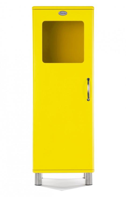 Vitrína Malibu - vitrína nízka, 1x dvere