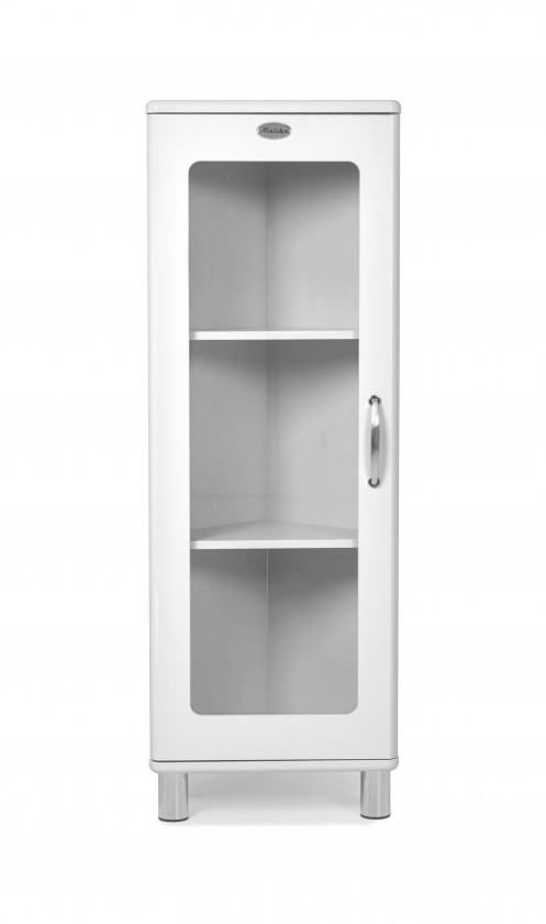 Vitrína Malibu - vitrína rohová, 1x dvere
