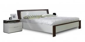 Viva - komplet, posteľ 180cm (alpská biela, lava čierna)