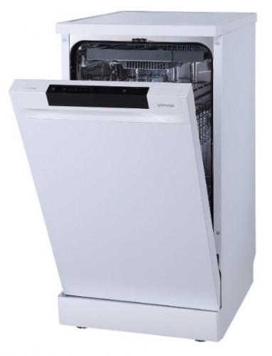 Voľne stojaca umývačka riadu Gorenje GS541D10W + dárek kapsle FINISH QUANTUM, 100ks