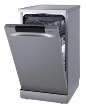 Voľne stojaca umývačka riadu Gorenje GS541D10X + darček kapsle FINISH QUANTUM, 100ks