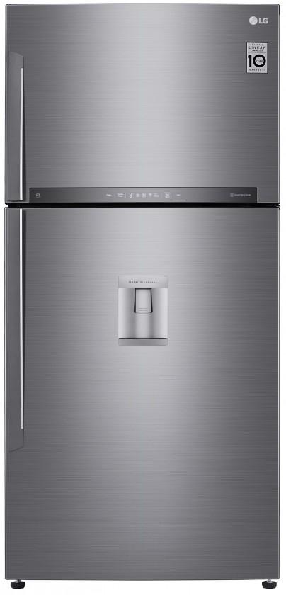 Voľne stojace chladničky s mrazničkou Kombinovaná chladnička s mrazničkou hore LG GTF916PZPZD
