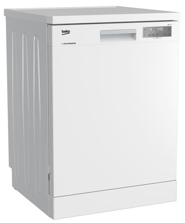 Voľne stojace umývačky BEKO DFN 39340 W