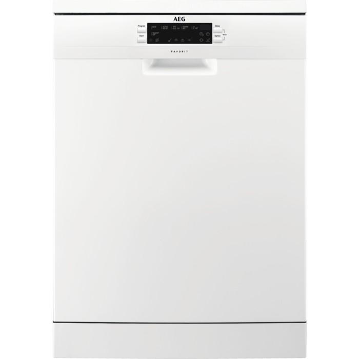 Voľne stojace umývačky Voľne stojaca umývačka riadu AEG FFB 62700 PW