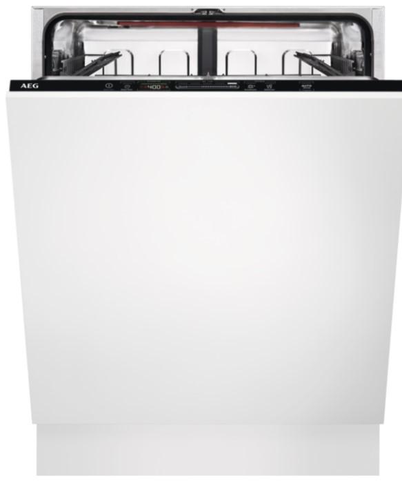 Voľne stojace umývačky Voľne stojaca umývačka riadu AEG Mastery FSB53637P POUŽITÉ, NEOPO