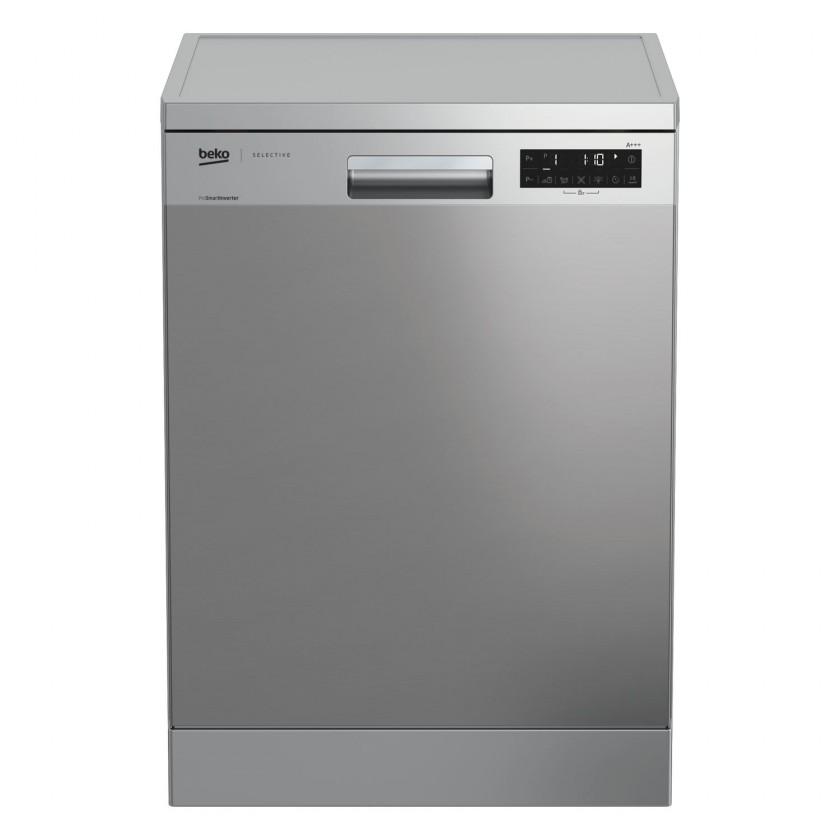 Voľne stojace umývačky Voľne stojaca umývačka riadu Beko DFN 39431 X