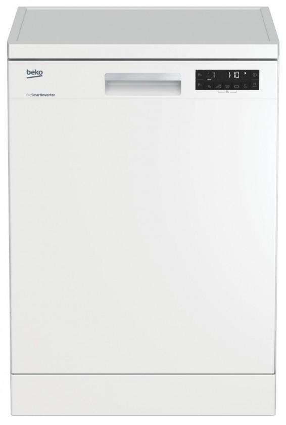 Voľne stojace umývačky Vólne stojaca umyvačka riadu BEKO DFN26420W, A++, 60 cm, 14 sad