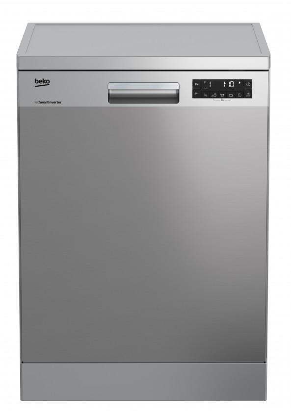 Voľne stojace umývačky Vólne stojaca umyvačka riadu BEKO DFN26422X, A++, 60 cm, 14 sad