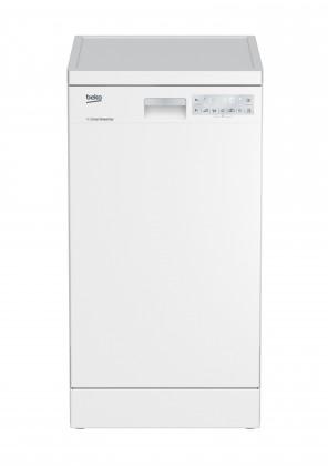 Voľne stojace umývačky Voľne stojaca umývačka riadu BEKO DFS39130W