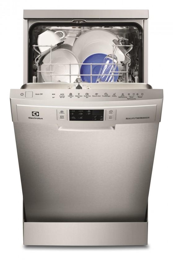 Voľne stojace umývačky Voľne stojaca umývačka riadu Electrolux ESF 4710ROX