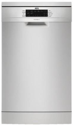 Voľne stojace umývačky Volně stojiacá umývačka riadu AEG Mastery FFB63400PM,A+++,9 sad