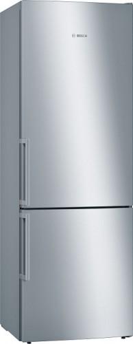 Volně stojiacá kombinovaná chladnička Bosch KGE49EICP, 302l