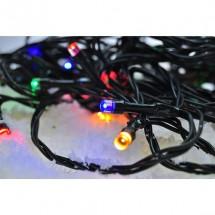 Vonkajšia vánočná reťaz Solight 1V04M,LED,30m,prívod 5m,8fcí