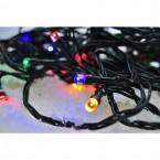 Vonkajšia vánočná reťaz Solight 1V101M,LED,10m,prívod 3m,8fcí