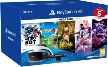 VR V2 headset Sony PS4 + kamera + 5 hier
