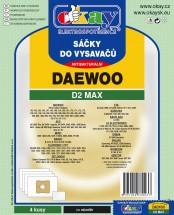 Vrecka do vysávača Daewoo D2 MAX 8ks