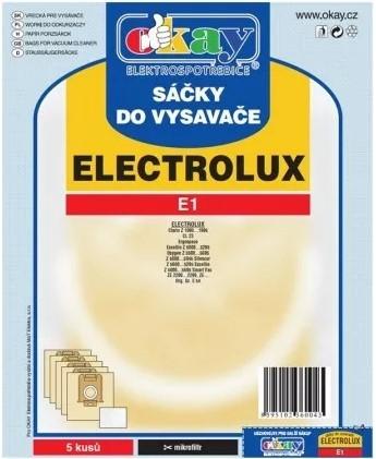Vrecká do vysávača Electrolux E1, 5ks