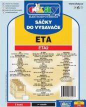 Vrecká do vysávača Eta ETA2, 5ks