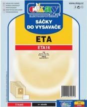 Vrecka do vysávača ETA16 5ks
