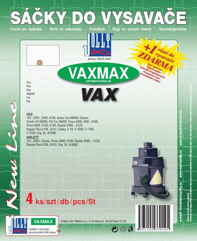 Vrecká do vysávača Jolly MAX VAX vrecka do vysávača 8ks