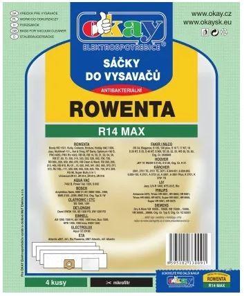 Vrecká do vysávača Rowenta MAXR14, 4ks