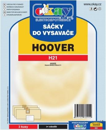 Vrecká do vysávača Sáčky do vysavače H21 6ks