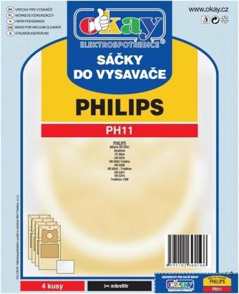Vrecká do vysávača Sáčky do vysavače Jolly PH11 ROZBALENO