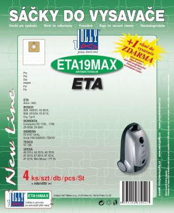 Vrecká do vysávača Sáčky do vysavačů ETA19 MAX 8ks