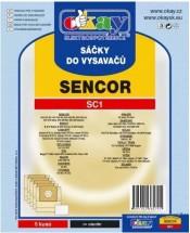 Vrecka do vysávača SC1 5ks