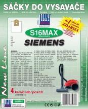 Vrecká do vysávača SIEMENS, BOSCH S16 MAX Jolly (4ks) textilné