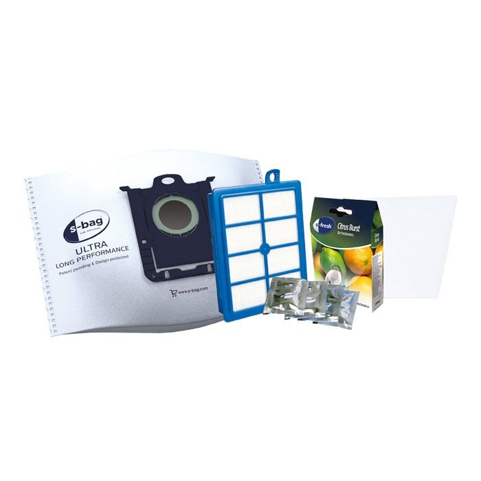 Vrecká do vysávača Starter Kit 4xsáček, 1xfilter, 4xvonný sáčok, 1xmotorový filter