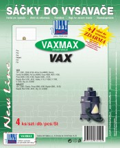 Vrecká do vysávača Vax MAX VAX, 8ks