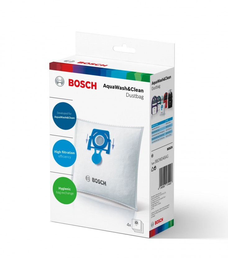 Vrecká do vysávača Vrecká do vysávača Bosch BBZWD4BAG 4ks