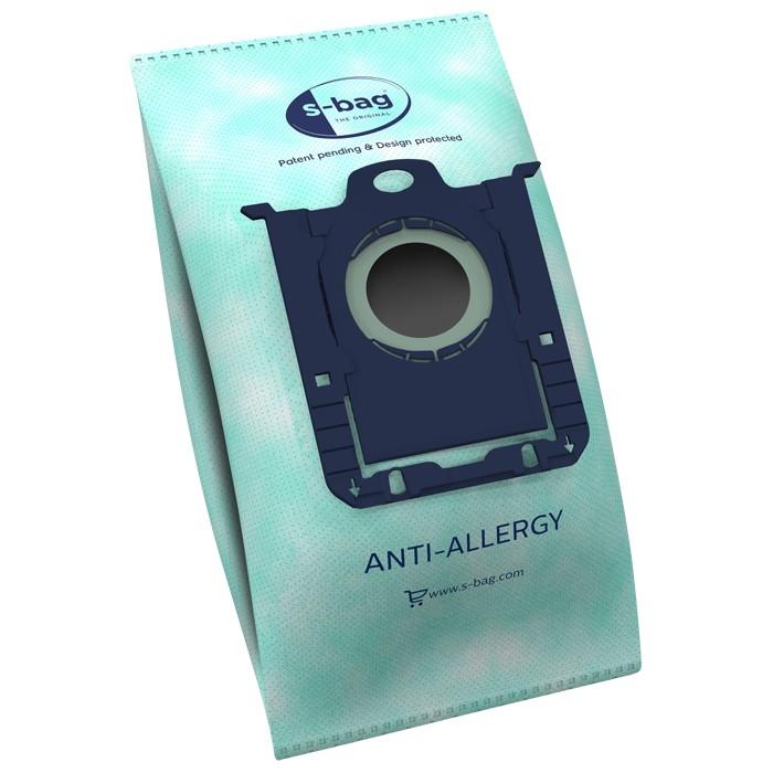 Vrecká do vysávača Vrecká do vysávača Electrolux E206B S-bag, antialergénne, 4 ks