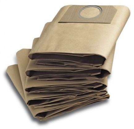 Vrecká do vysávača Vrecká do vysávača Kärcher WD3, filtračné, 5ks