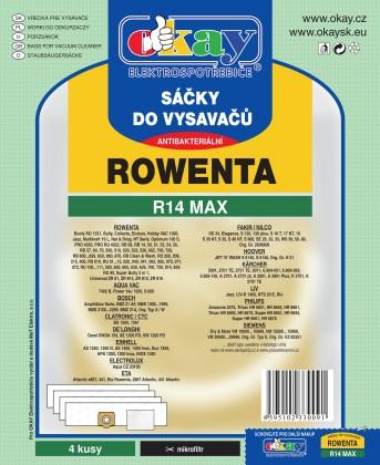 Vrecká do vysávača Vrecka do vysávača Rowenta R14 MAX 8ks
