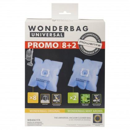Vrecká do vysávača Vrecká do vysávača Rowenta Wonderbag Original, 8ks + 2xvůně mäty