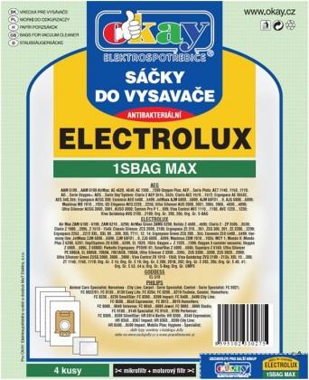 Vrecká do vysávača Vrecka do vysávačov Electrolux S-bag MAX antibakteriálne 8ks