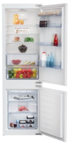 Vstavaná kombinovaná chladnička Beko BCSA285K3SN MinFrost