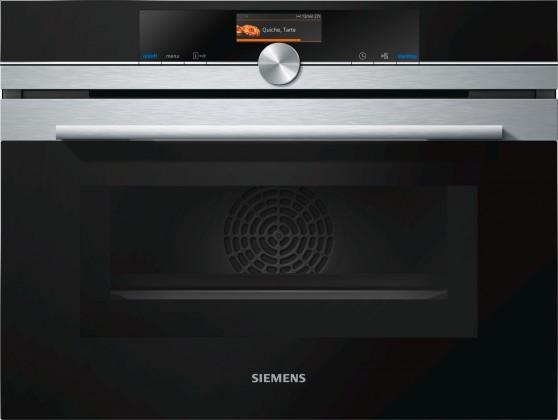 Vstavaná mikrovlnná rúra Vstavaná mikrovlnná rúra Siemens CM 656GBS1