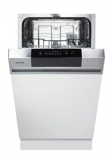 Vstavaná umývačka riadu Gorenje GI52010X, A++, 45 cm