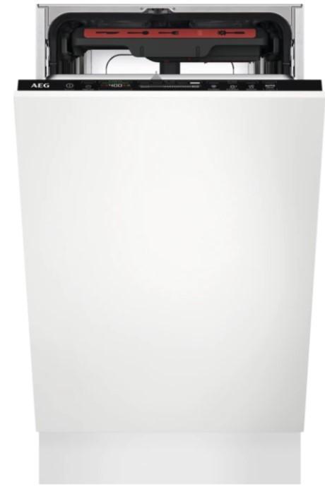 Vstavané umývačky Vstavaná umývačka riadu AEG FSE73517P,45cm,A+++,10 sad