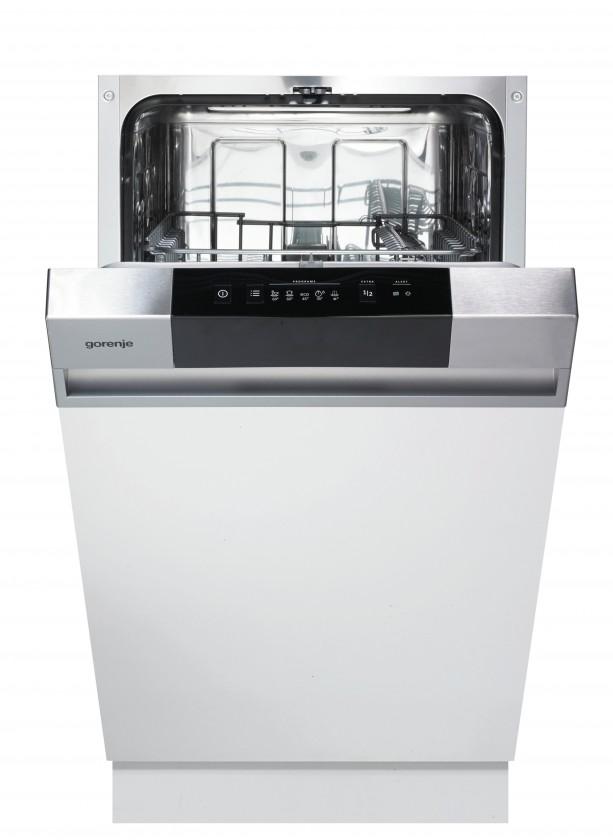 Vstavané umývačky Vstavaná umývačka riadu Gorenje GI52010X, A++, 45 cm