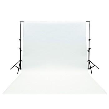Vybavenie foto štúdií KÖNIG foto pozadie 3x2m - biele - KN-BD32W