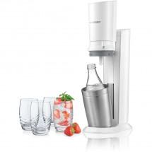 Výrobník sódy SodaStream Crystal Titanium 1216511490, biely